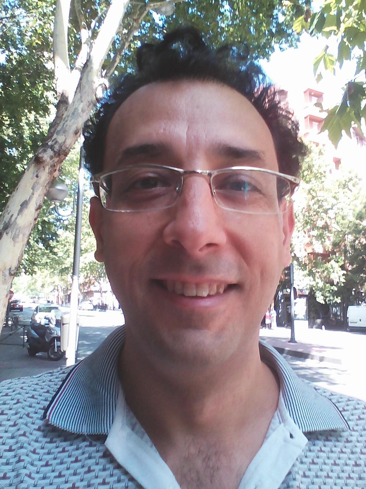 Victor San José profesor de español CEI MONTELEÓN